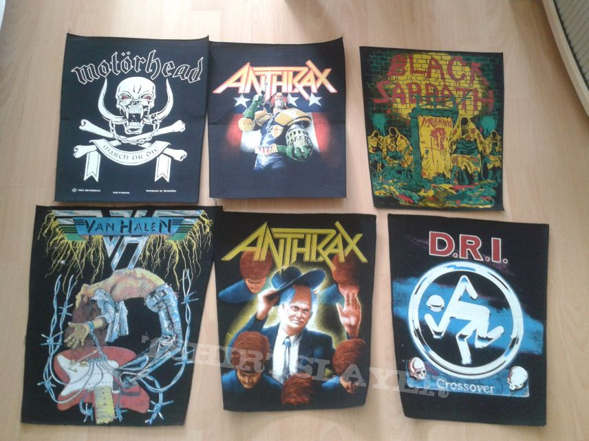 (Back)Patches for Trade...maybe Sell