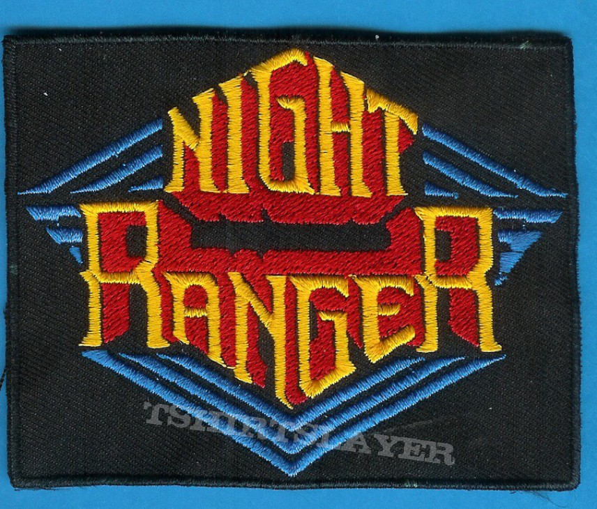 night ranger patch tshirtslayer tshirt and battlejacket gallery. Black Bedroom Furniture Sets. Home Design Ideas