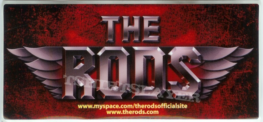 The Rods patch/stickers