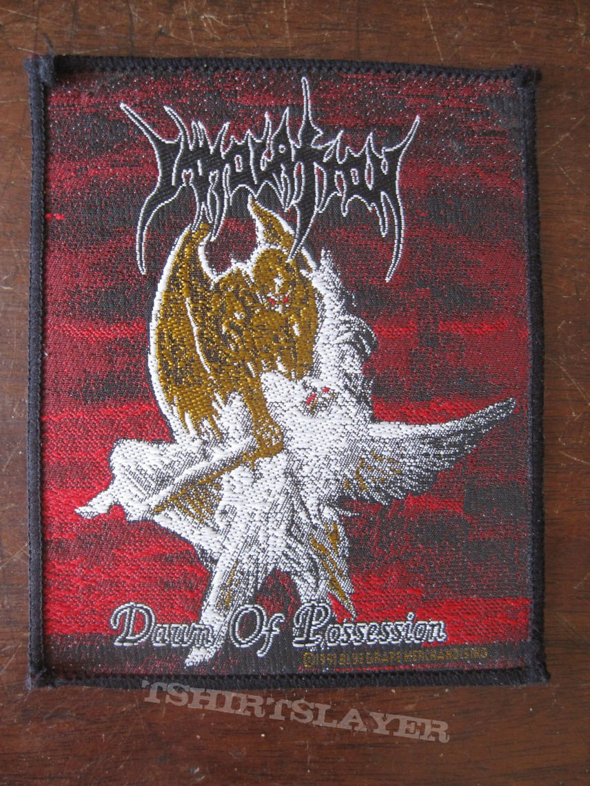 "Immolation ""Dawn of Possession"" original"