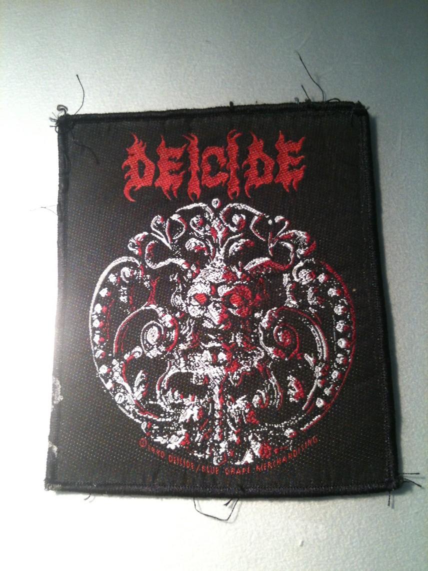 Deicide Trifixion patch 1990