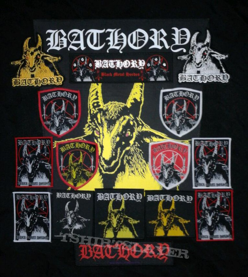 bathory goat patches tshirtslayer tshirt and