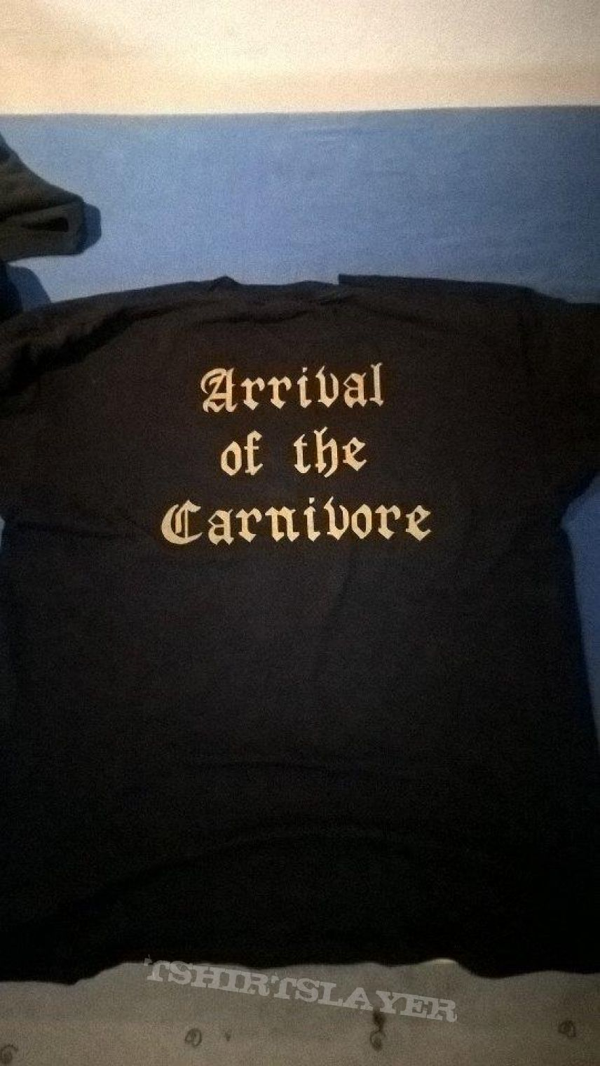 Nocturnal Arrival of the Carnivore Shirt (lim) in XL