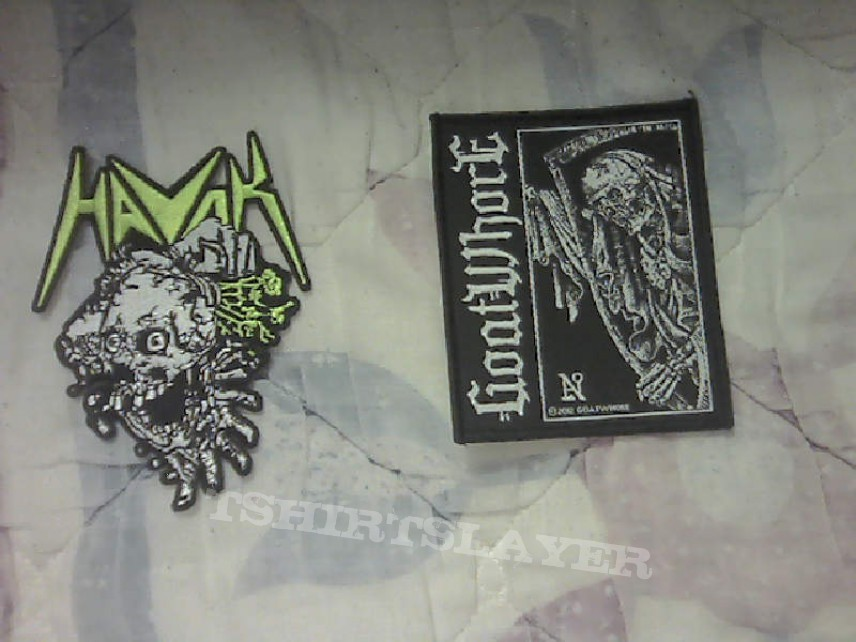 Patch havok skull patch and goatwhore patch