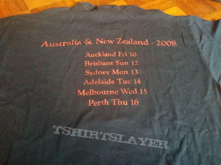 Austalia & NZ 2008 tour