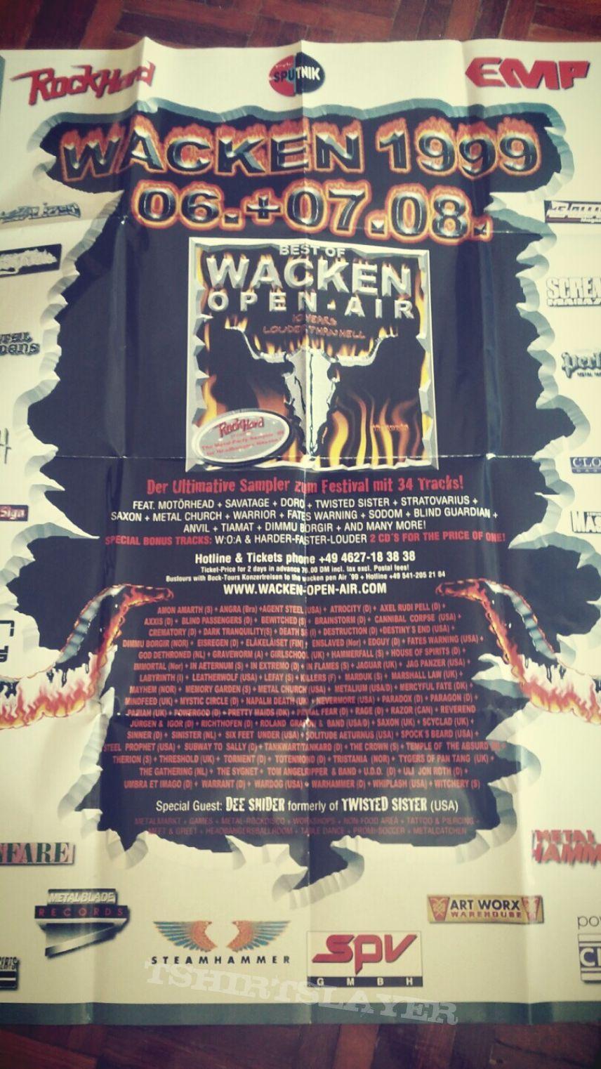 Wacken 1999 poster