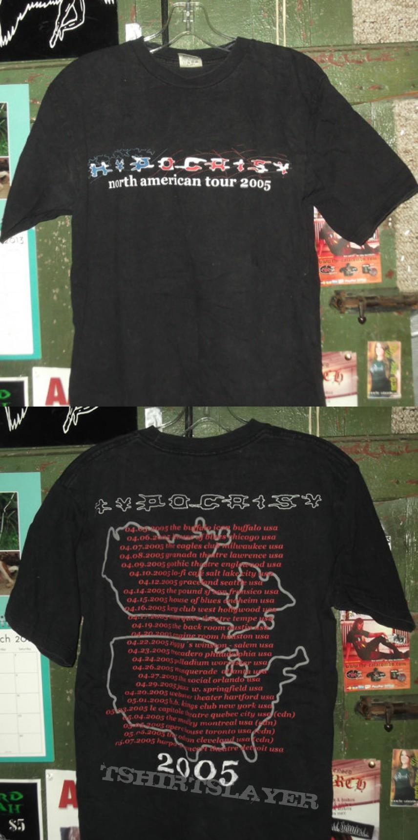 TShirt or Longsleeve - Hypocrisy - 2005 North American Tour Shirt