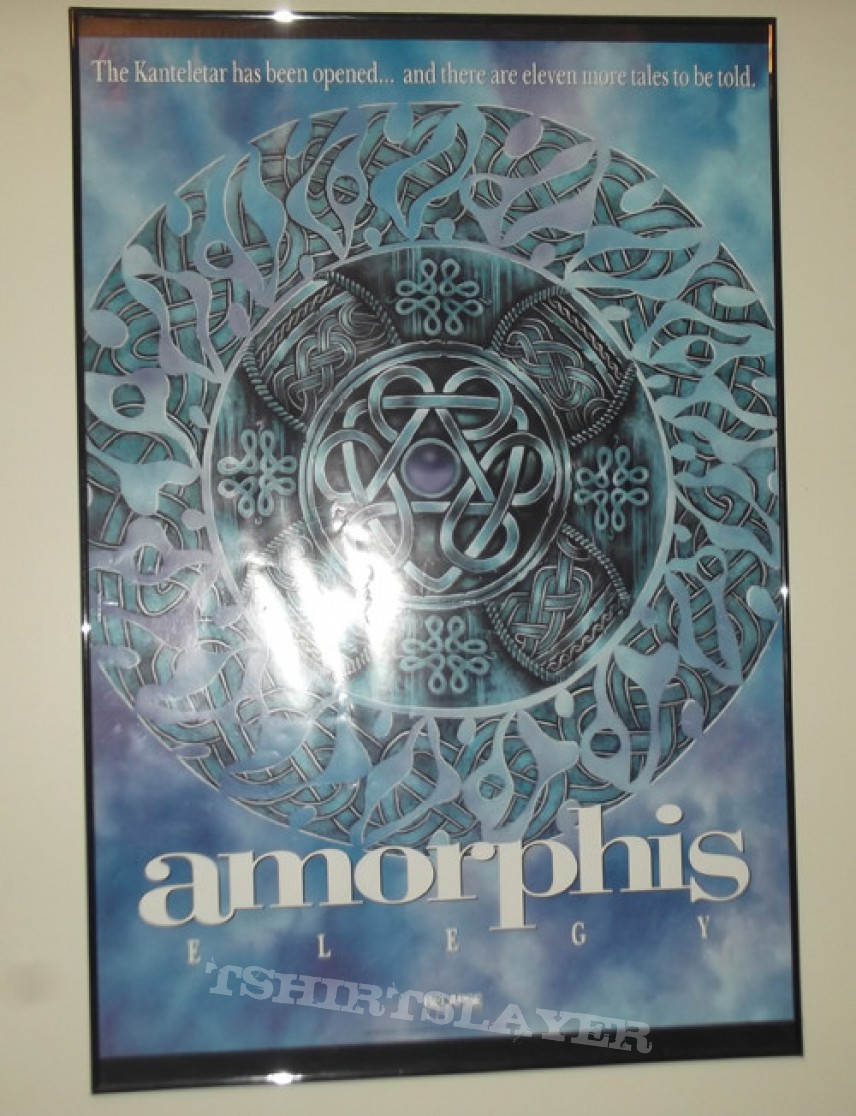 Other Collectable - Amorphis - Elegy Poster