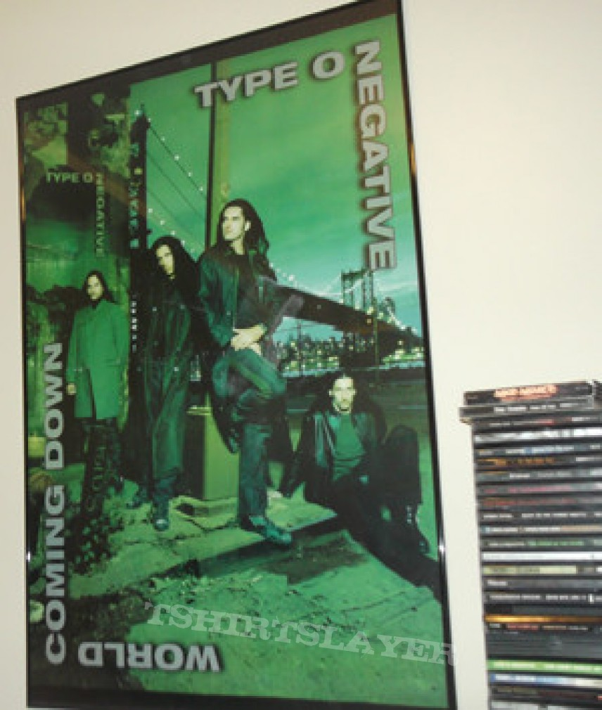 Other Collectable - Type O Negative - World Coming Down Poster