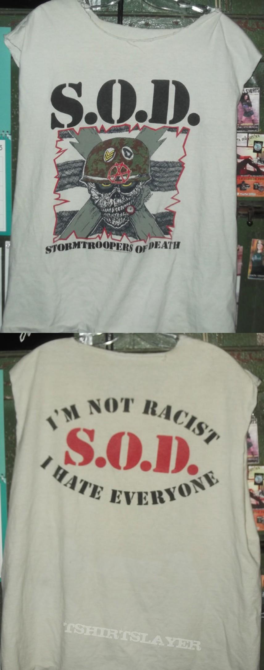 TShirt or Longsleeve - SOD - Sgt.D Shirt