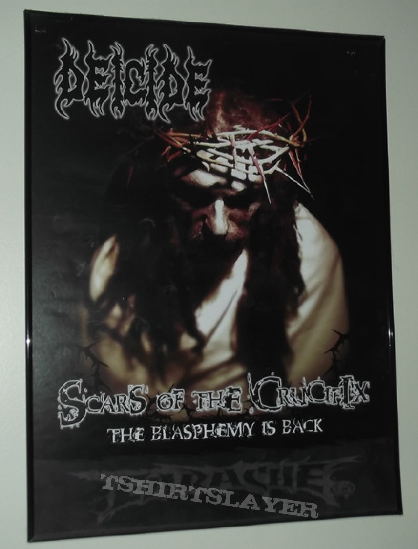 Other Collectable - Deicide - Scars of the Crucifix Poster