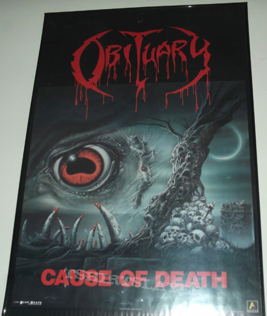 Other Collectable - Obituary - Cause of Death Poster