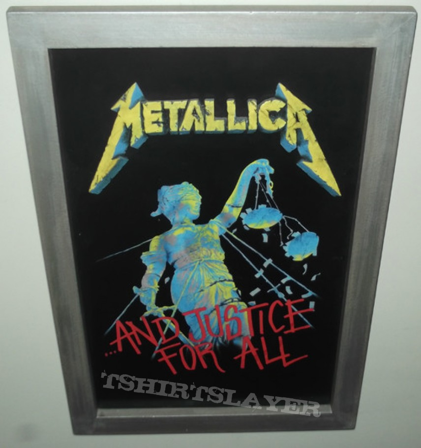 Other Collectable - Metallica - And Justice for All Wall Art