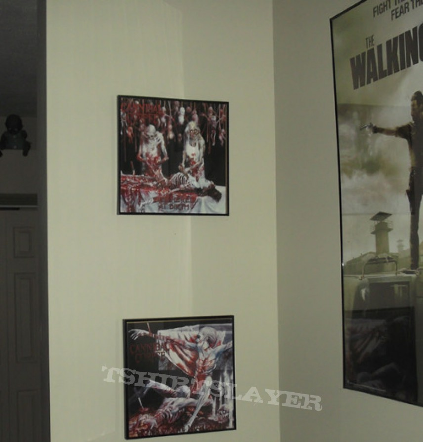 Other Collectable - Cannibal Corpse - Framed Vinyl