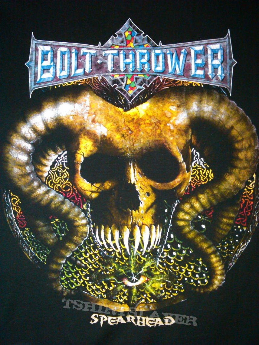 Bolt Thrower - Spearhead shirts