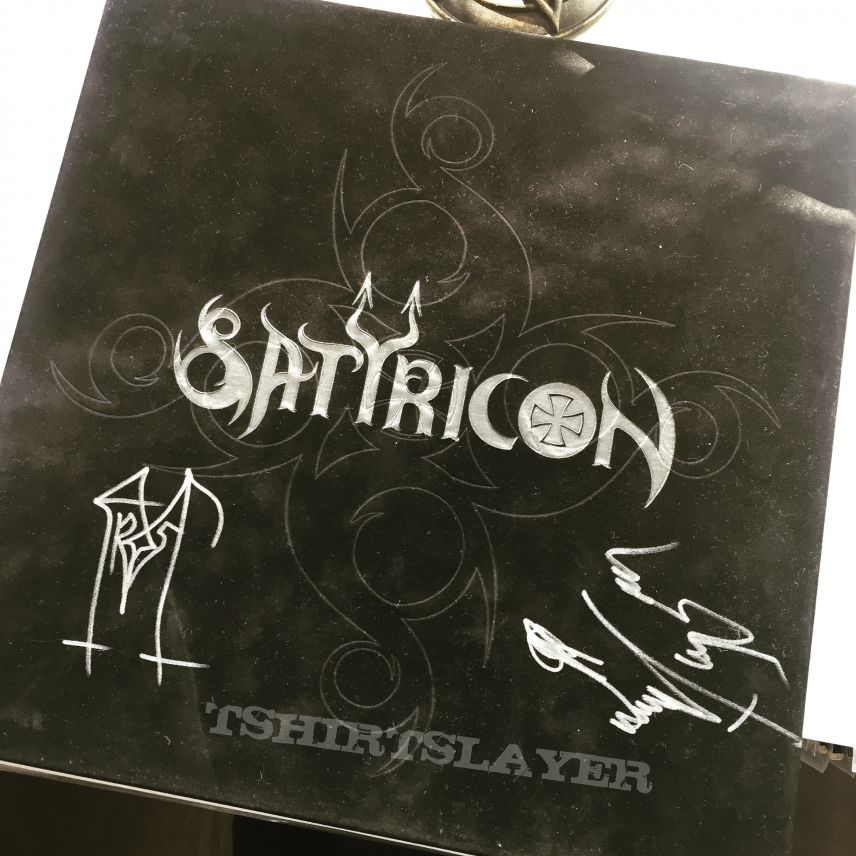 Satyricon - Picture vinyl box lim. 1000 signed by Satyr & Frost