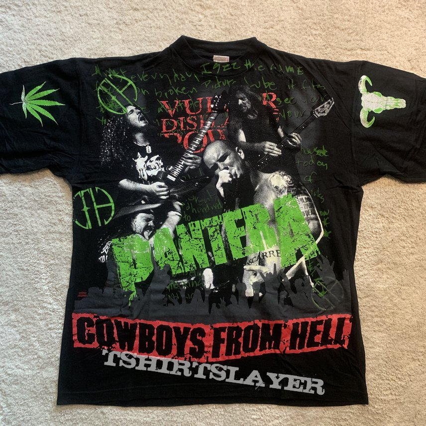 Pantera - Cowboys From Hell all-over print