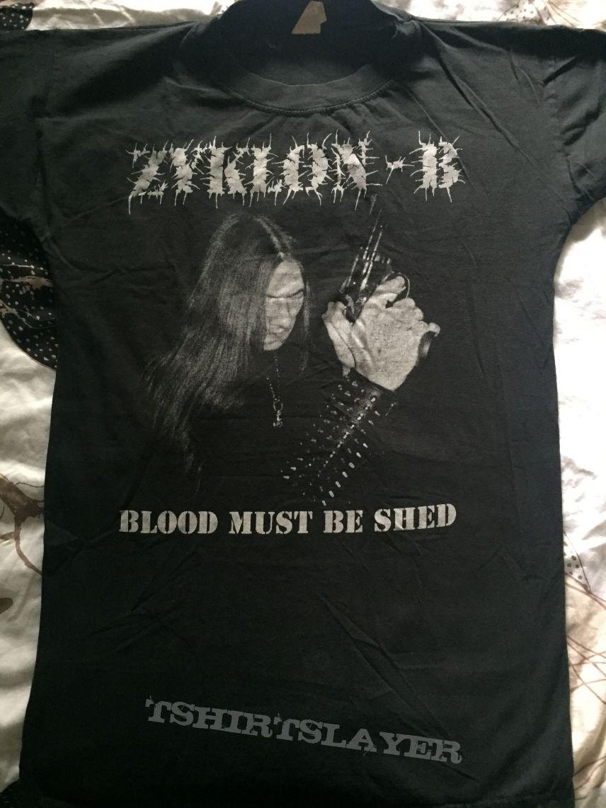 Zyklon-B - Blood must be shed (org malicious?) shirt