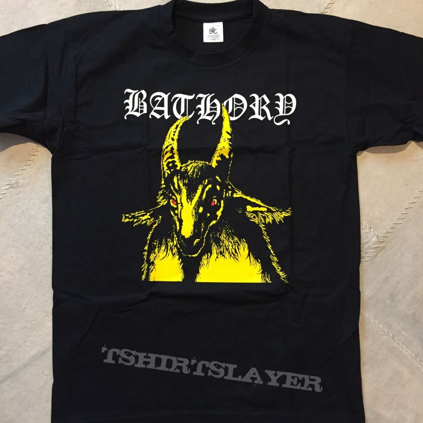 Bathory - Yellow Goat shirt