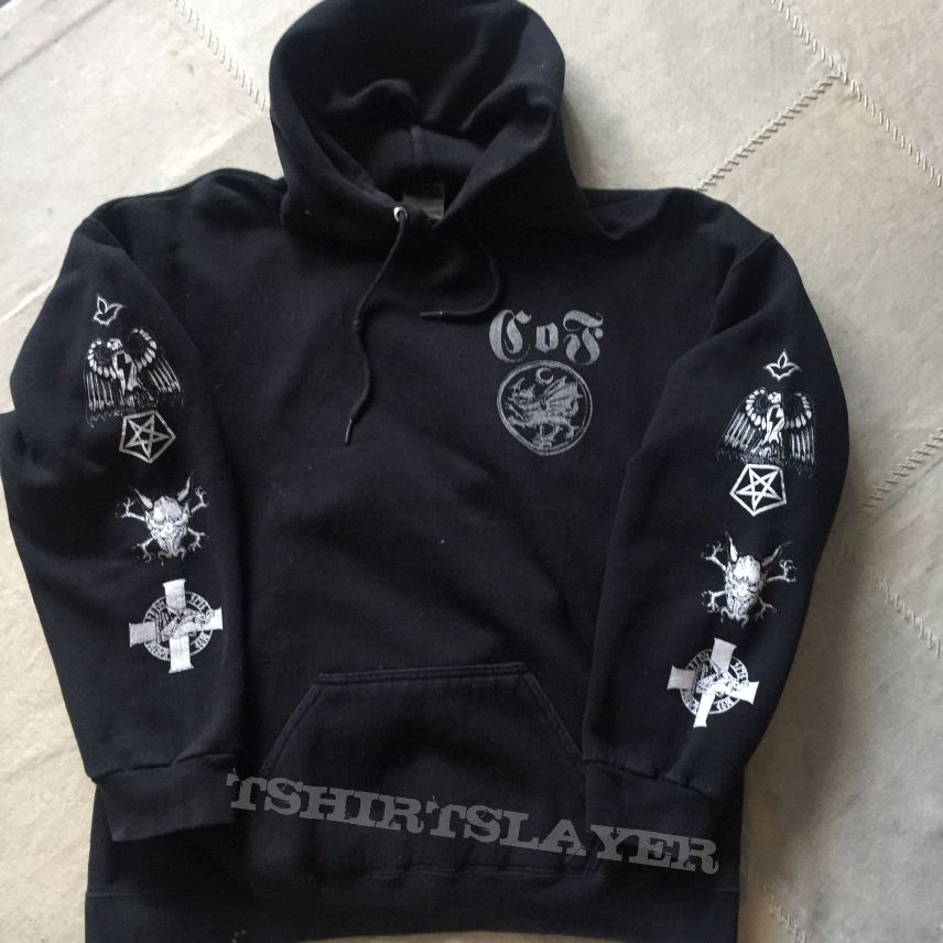 Cradle Of Filth - Nocturnal Supremacy Hoodie (with white sleeve prints)