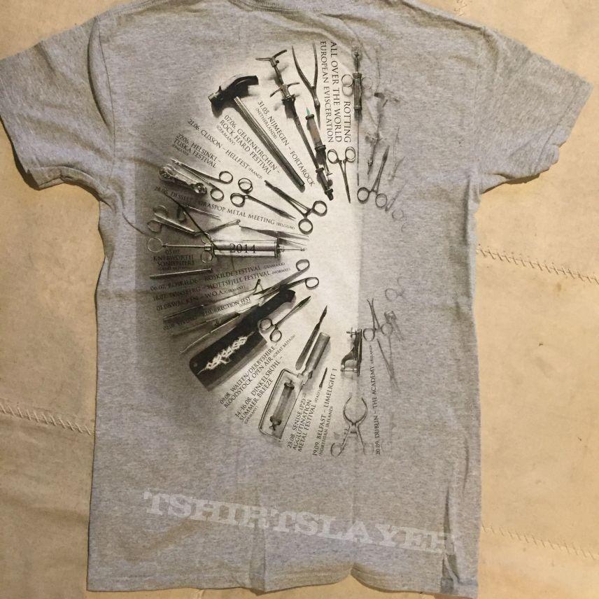 Carcass - Surgical Steel tour shirt
