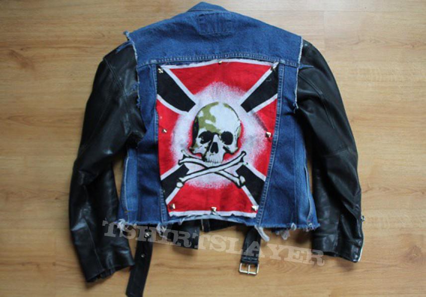Battle Jacket - Battlejacket with Leather
