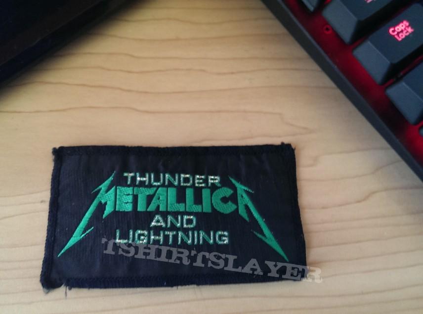 Metallica Thunder&Lightning Patch