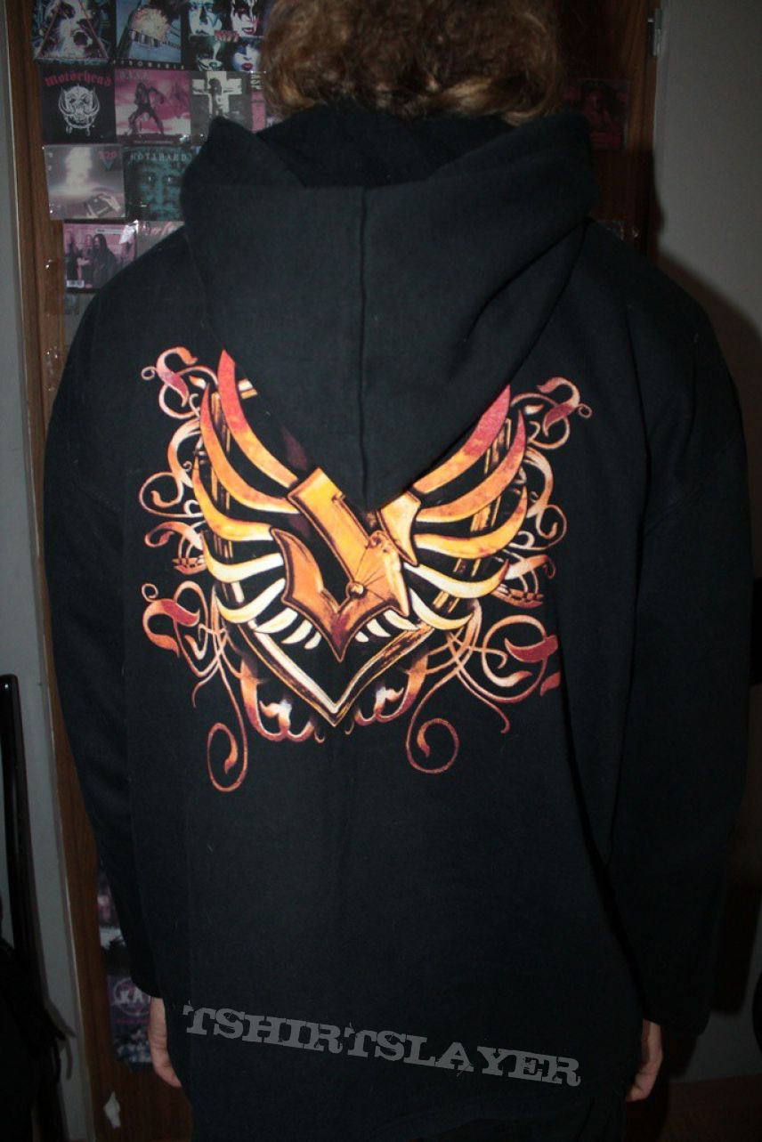 Sabaton - Coat Of Arms Hooded Top FOR SALE