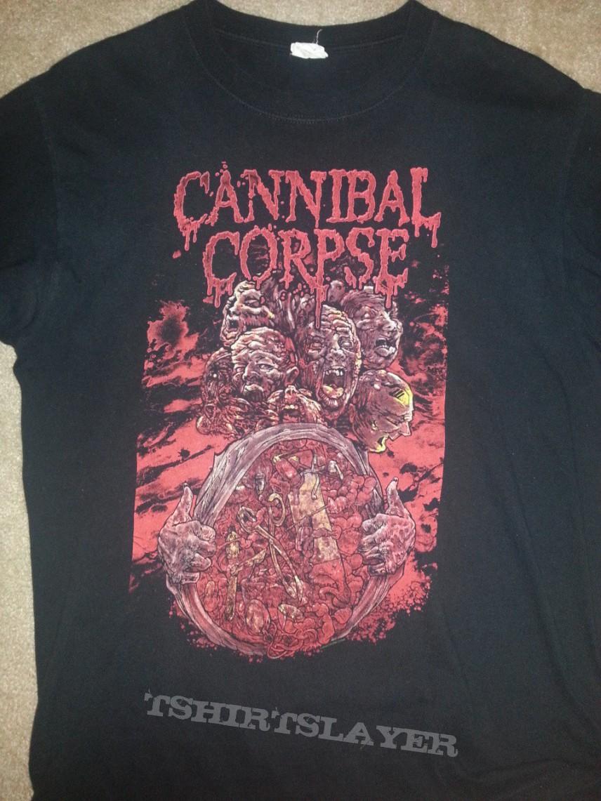 Cannibal Corpse Tour Tshirt