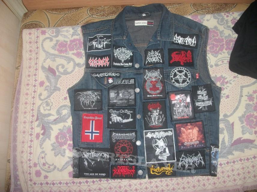 Battle Jacket - Check out my battle jacket !