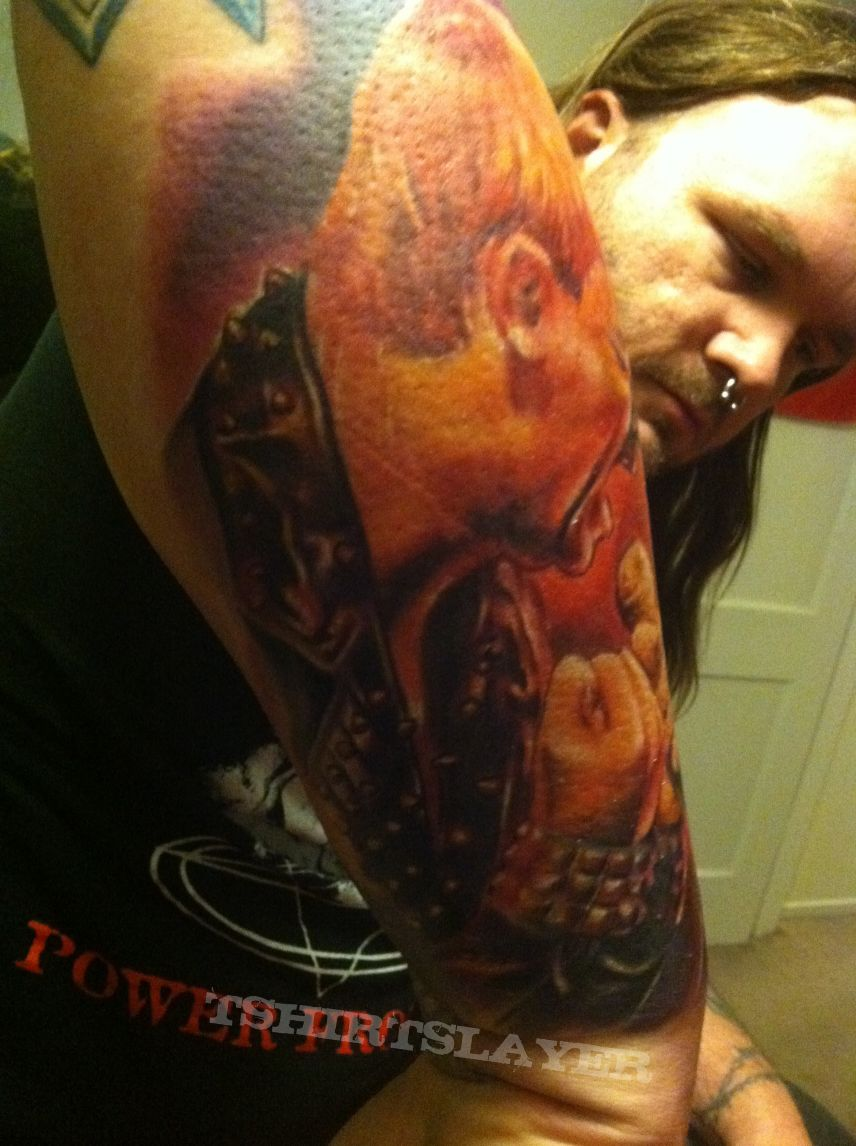Rob Halford Tattoos