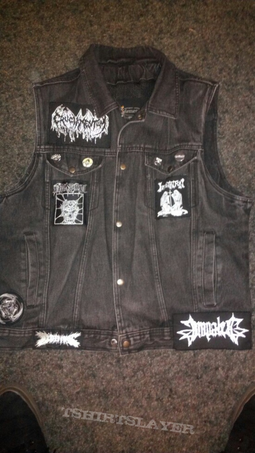Battle Jacket - My Stormcrow centerpiece Kutte