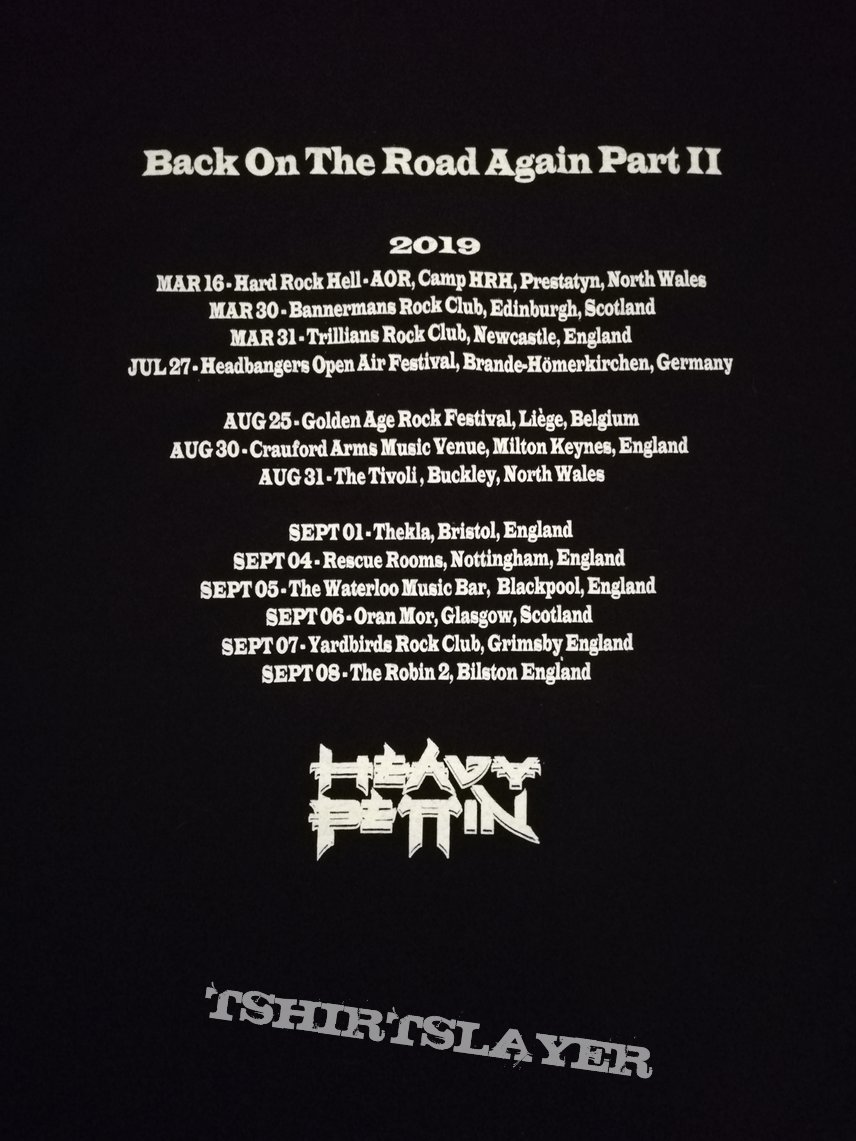 Heavy Pettin' - 'Back On The Road Again'