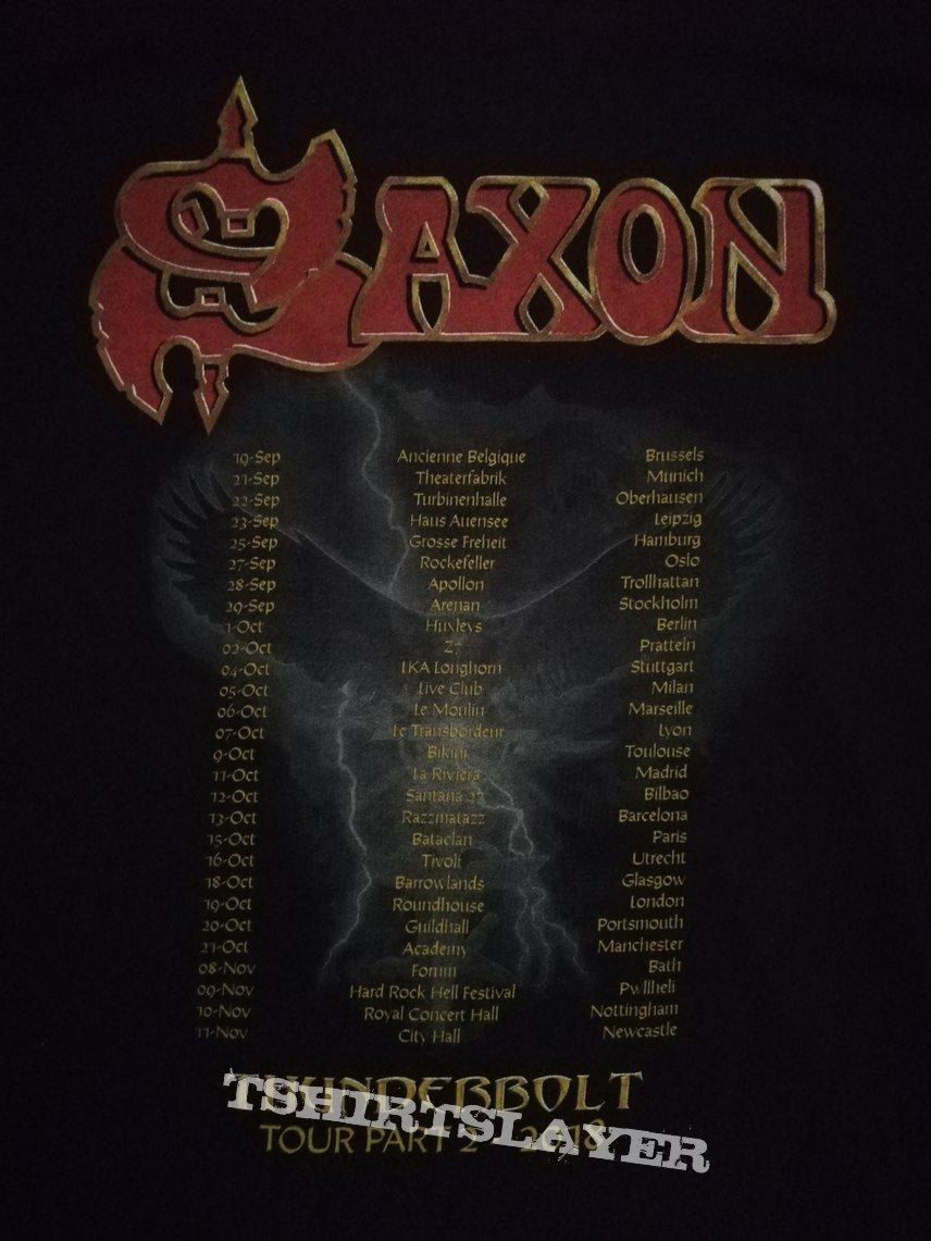 Saxon - 'Thunderbolt'