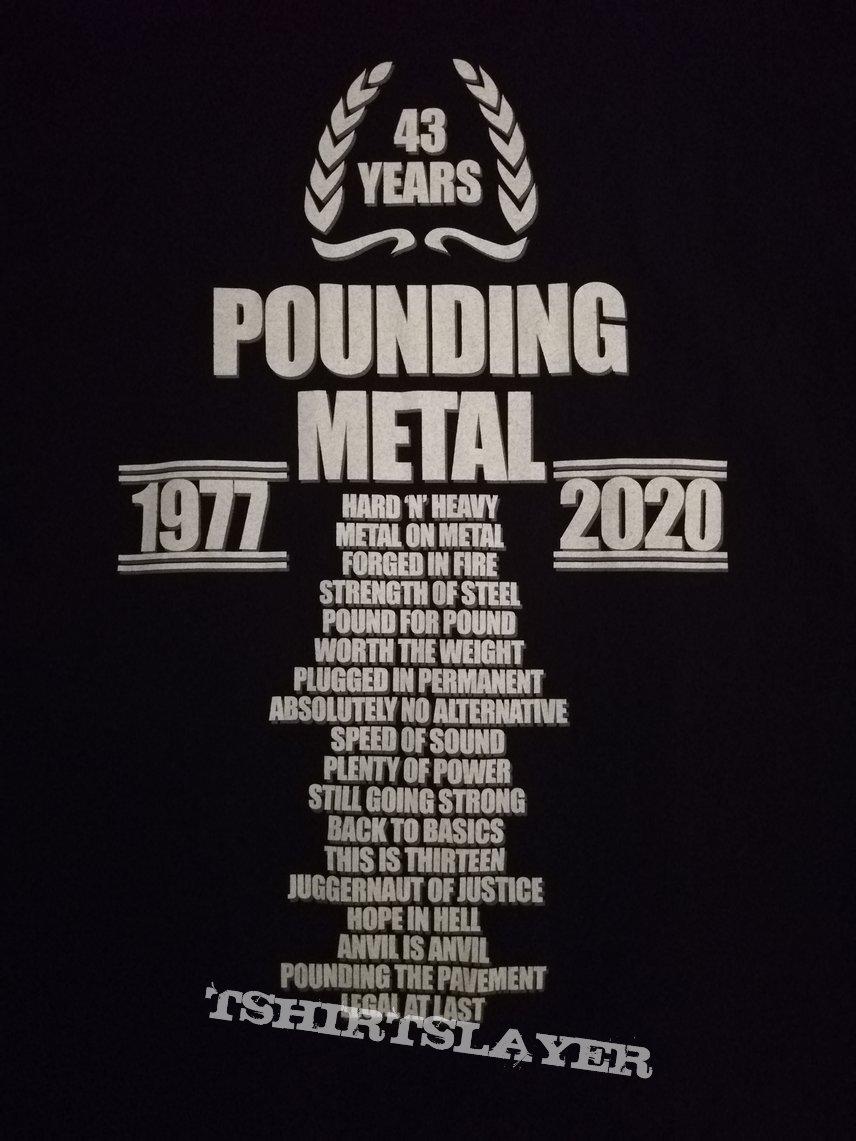 Anvil - 'Pounding Metal'