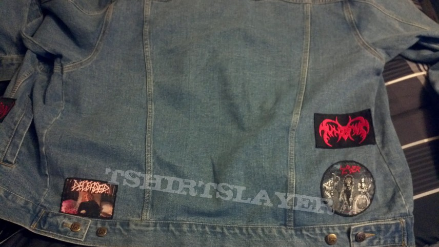 Battle Jacket - Some patches I sewed on