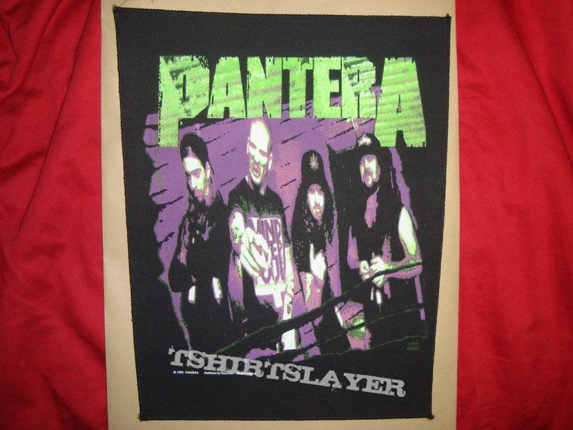 Pantera back patch