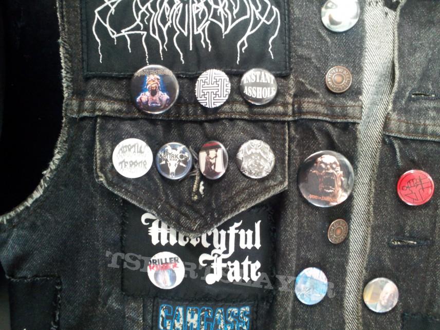 Battle Jacket - Blackmetal - Deathmetal - Grind - Crust vest