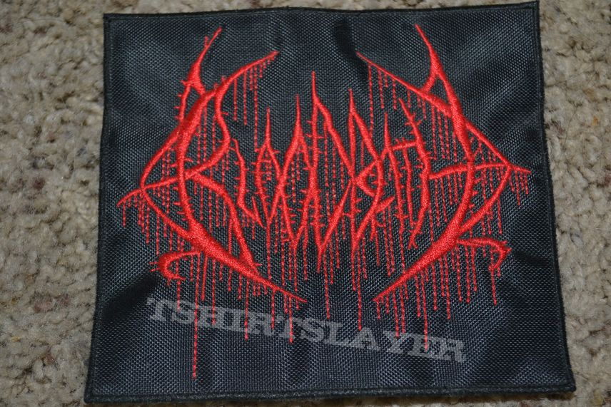 Woven//Embroidered Bloodbath patch