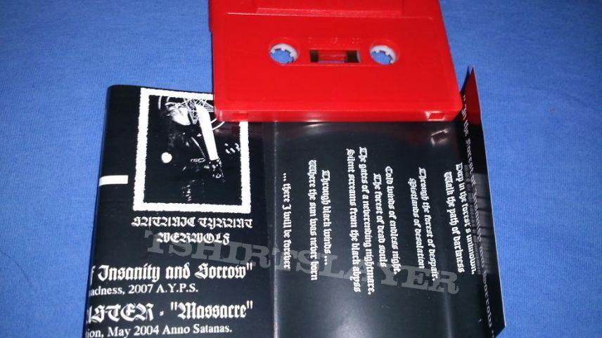 Satanic Warmaster/Evil - Southern/Carelian Black Metal Holocaust Tape