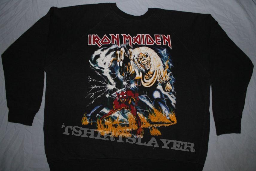 Iron Maiden Number of the Beast FC sweatshirt