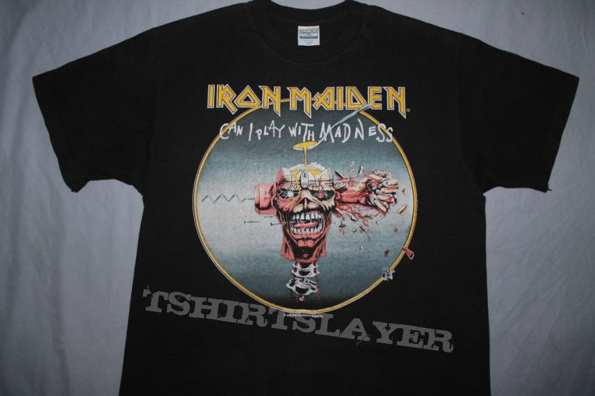 Iron Maiden US Seventh Tour - Moncton to Charlotte blue