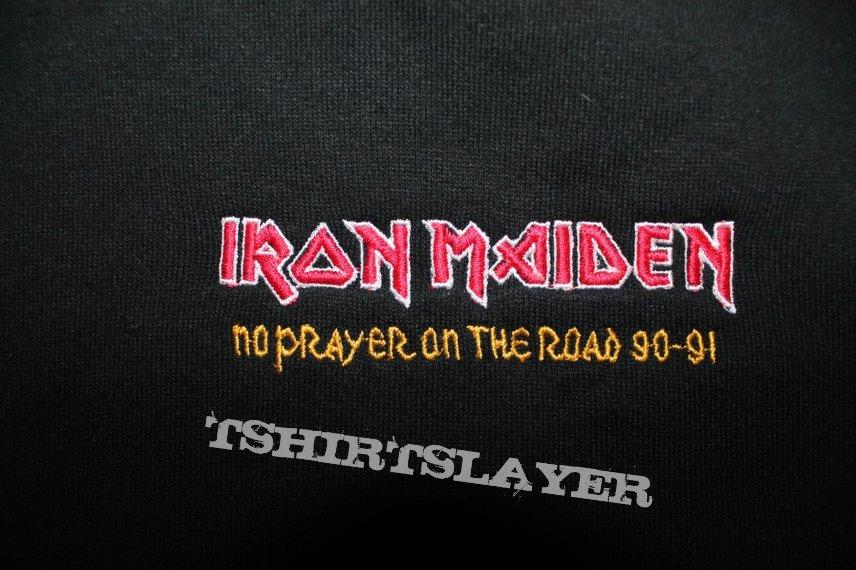 Iron Maiden No Prayer on the Road black crew hoodie