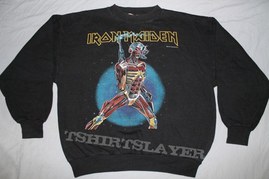 Iron Maiden Eddie Laser black sweatshirt