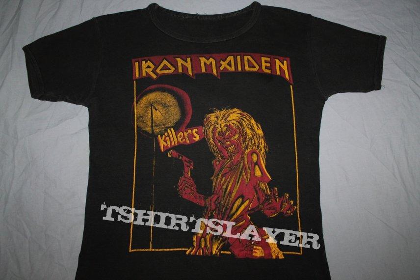 Iron Maiden Killers bootleg | TShirtSlayer TShirt and BattleJacket