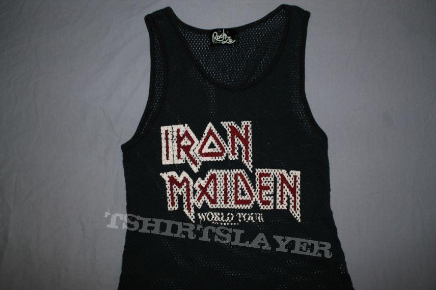Iron Maiden Japan 82 World Tour mesh singlet