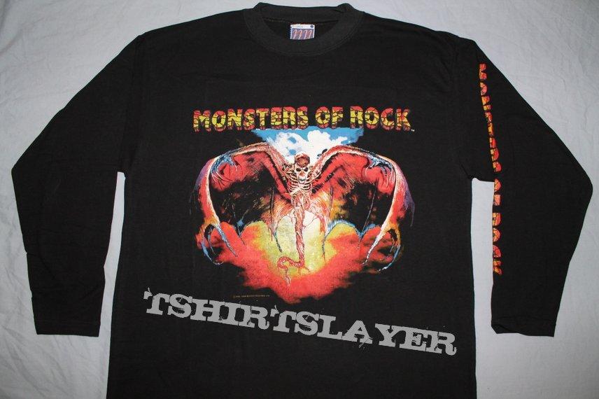 Iron Maiden MOR Donnington longsleeve
