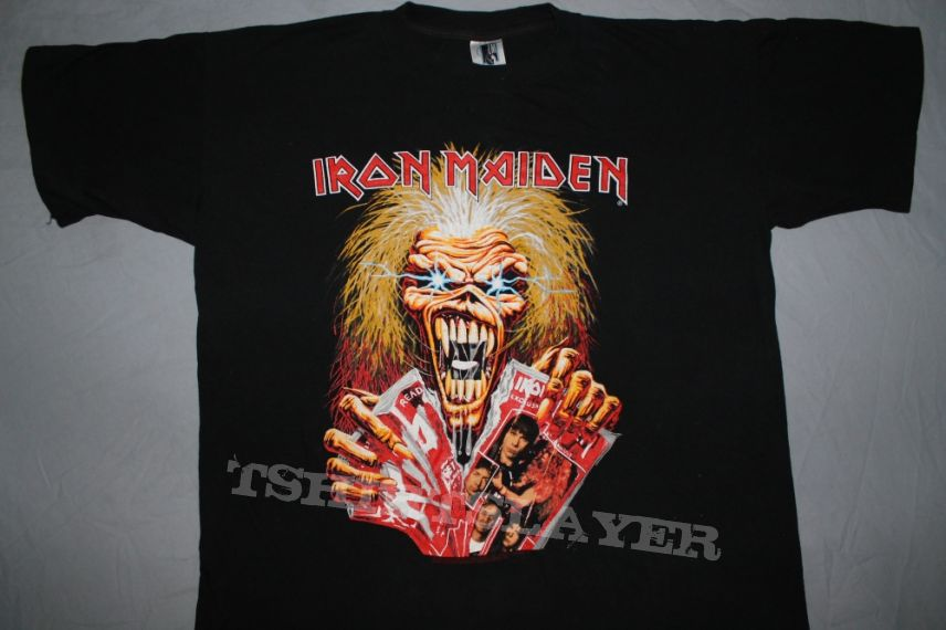 Iron Maiden RIP promo