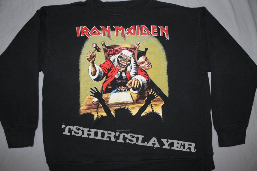 Iron Maiden Judge sweatshirt