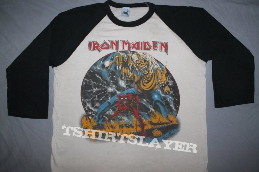 Iron Maiden US Number of the Beast 1-sided jersey